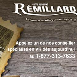 Centre du camping Rémillard