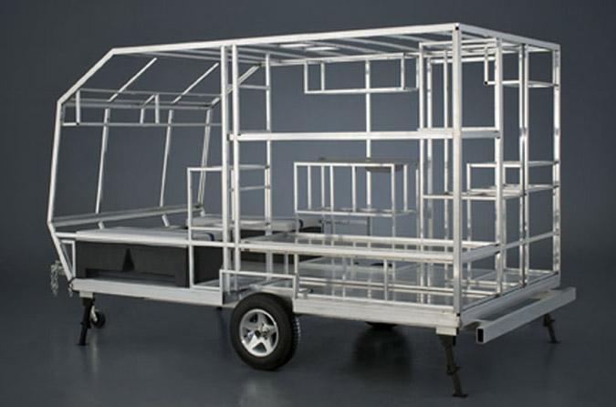 un ch ssis enti rement en aluminium tubulaire l ger et robuste camping caravaning. Black Bedroom Furniture Sets. Home Design Ideas