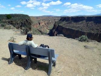 Le pont sur le canyon du Rio Grande - copie