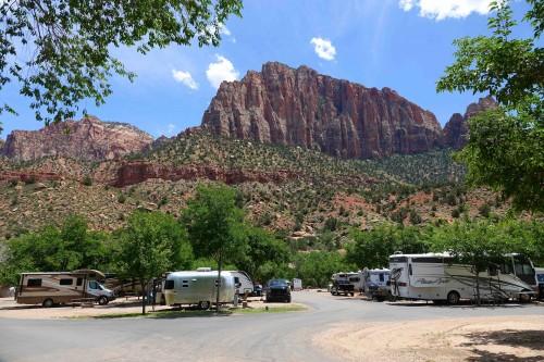 Camping du Quality Inn à l'entrée de Zion - copie