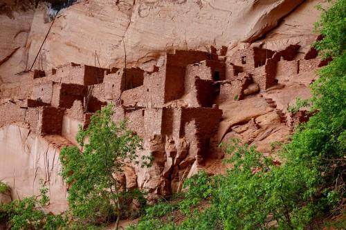 Le village Pueblo préhistorique de Betatakin. - copie