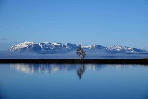 Le lac Yellowstone dans toute sa magnificence. - copie