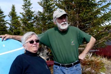 Pete et George Barrett nde la pourvoirie d'aventure, Experience Labrador. - copie
