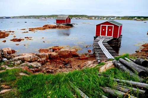 Les anciennes boîtes de sel devenues attraits touristiques.