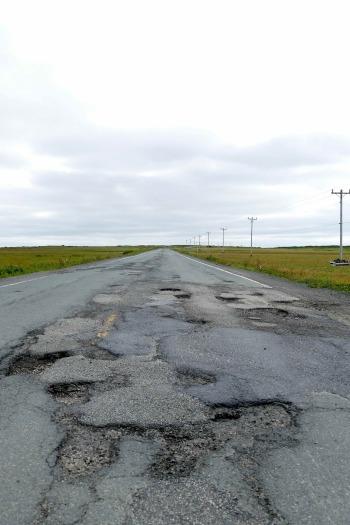 L'état des routes est déplorable... - copie