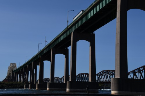 Pont International un des liens les plus fréquentés vers les USA
