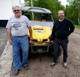 Rob Clarck senior et Rob junior