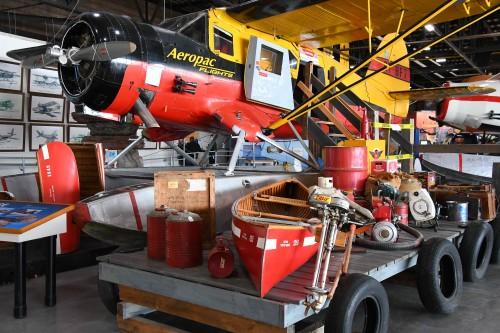 Sault-Sainte-Marie compte un intéressant musée d'hydravions.
