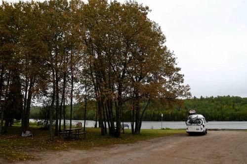 Camping à la marina de Nipigon