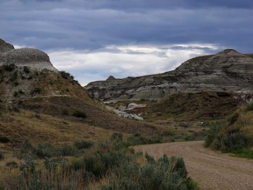 Les Badlands du sud de l'Alberta