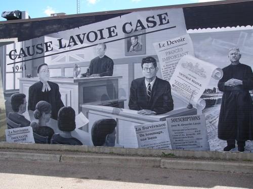 L'affaire Lavoie a suscité énormément d'intérêt au Québec où on a même recueilli des fonds pour supporter la cause.
