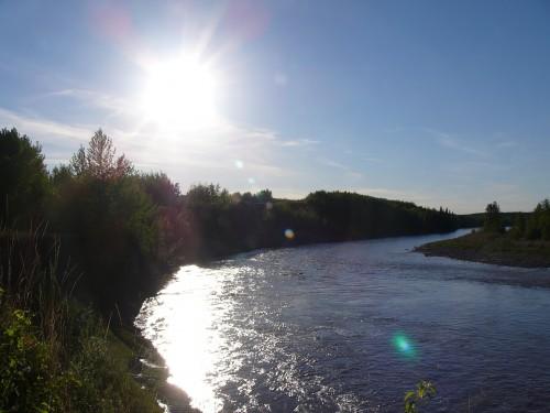 La rivière-de-la-Paix